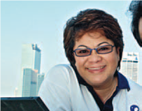Puan Zaharah Zaid, Head of Human Capital of MAS