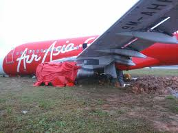 AA's plane skidded off the runway a few years.