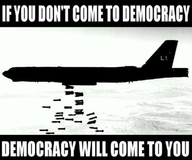 """""""Demokrasi"""" akan datang ke negaraku ini"""