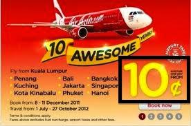 "2012 advertisement ""10 SEN FARE"""