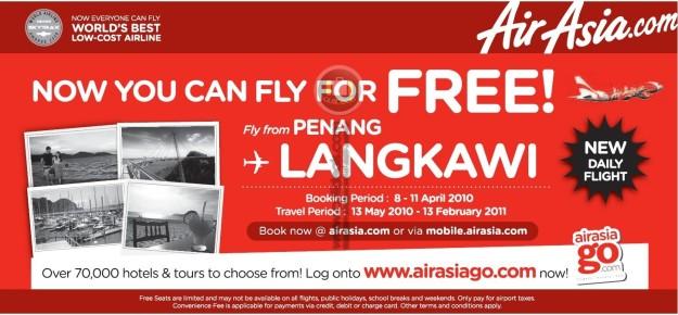 Free Flights to Langkawi