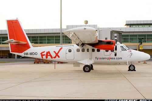 FAX also known as Fly Asian Express in 2006 to September 2007