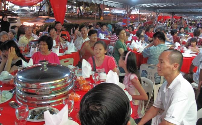 Warga Wangsa Maju Chinese New Year Open House 2013 celebration