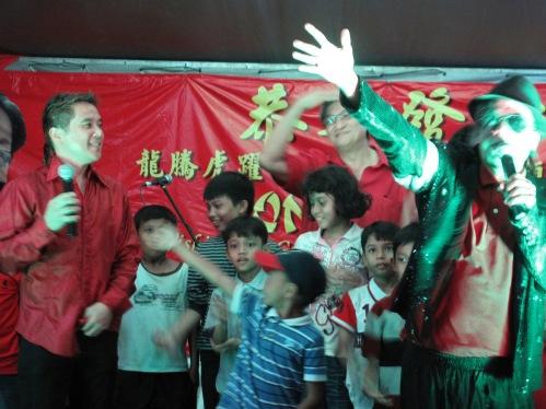 Yg Bhg Datuk Leonard Tan & Sdr Helmi, the Malaysian's version of Michael Jackson