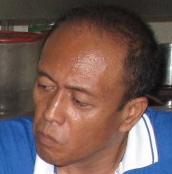 The Chairman of the so-called Persatuan Penduduk Danau Kota Flats. He is not the owner of Danau Kota Flats.