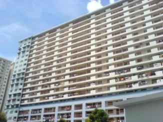 One of the blocks of Danau Kota Flats