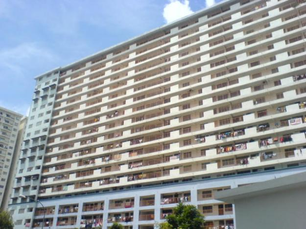 One of the blocks of Danau Kota Flats