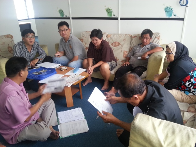 The complainants were waiting in the waiting room in the Kepong Police Station
