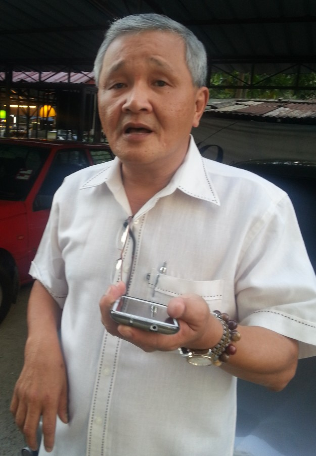 Mr David Lim Kok Chu, the manager in charge of Danau Kota Flats