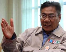 "YB Datuk Mansor has made the word ""TOKONG""."