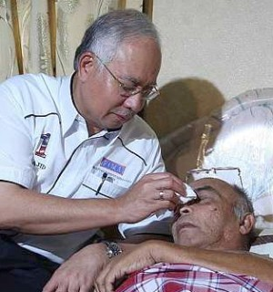 The caring YAB Datuk Seri Najib bin Tun Razak