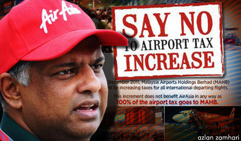 AirAsia says no to increase airport charges