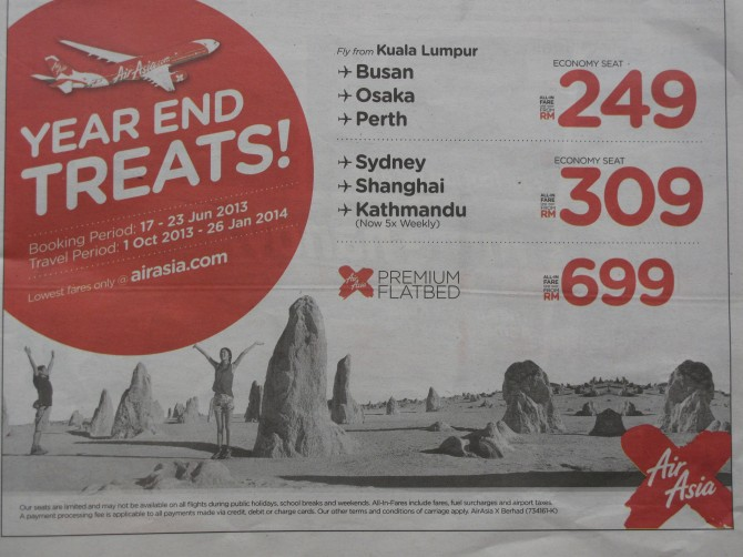 AA X advert in Star 18-6-2013