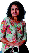 The highly acclaimed journalist, Ms B K Sidhu, the New Editor of StarBiz