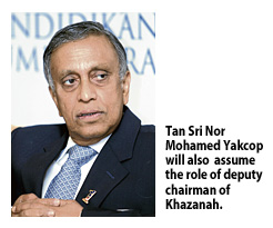 Tan Sri Nor Mohamed Yakop, the then very powerful Minister of Finance II.