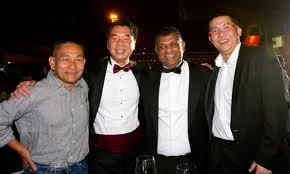 Left: En Ahmad Jauhari Yahya aka AJ
