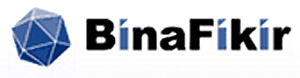 BinaFikir Sdn Bhd's logo. In 2008 It was sold to Maybank for RM8 million.