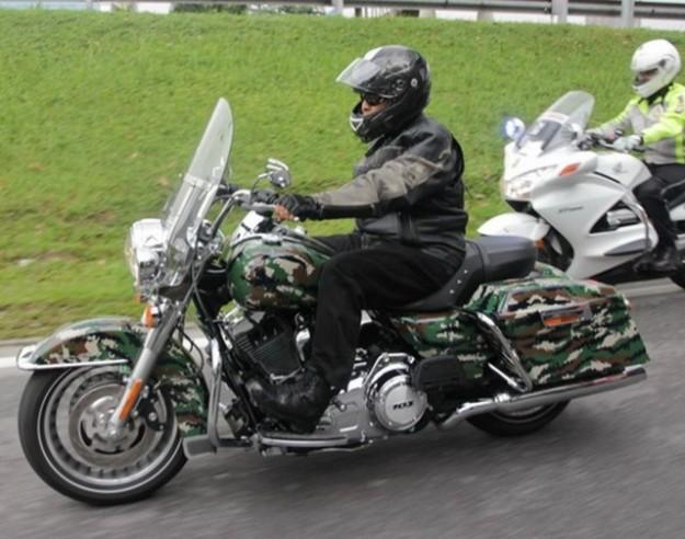 YB Datuk Zahid Hamidi, the Harley man