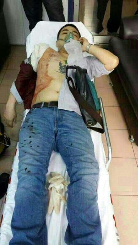 A gunned down victim in Pandan