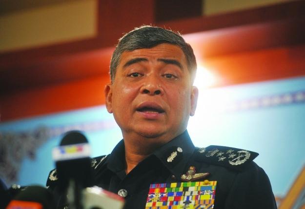 The IGP Tan Sri Khalid Abu Bakar