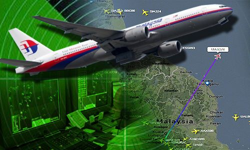 The missing MH 370