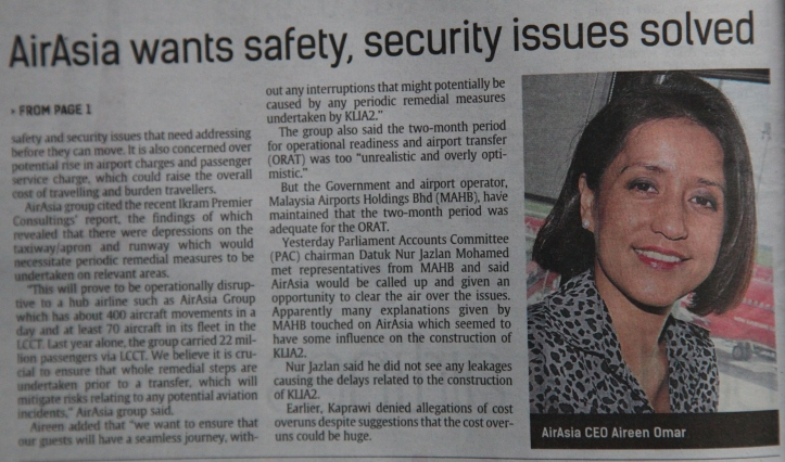 Star Business  page 2 lead story by Ms BK Sidhu