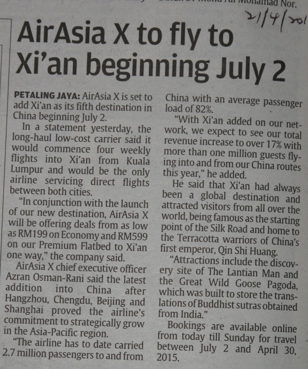 21-4-2014 Star report on promotion of AA x