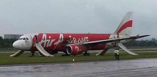 AirAsia skidded