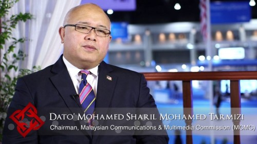 Yg Bhg Dato' Mohamed Sharil Mohamed Tarmizi, the Chairman of MCMC