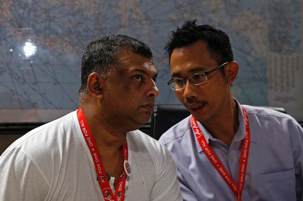 Left: Tony Fernandez  Rt:  Sunu Widyatnoko