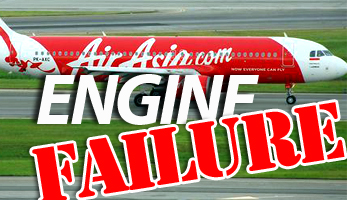 The engine failure that was downplayed.