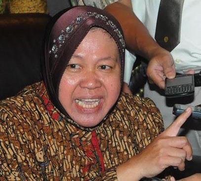 Walikota (Mayor) of Surabaya, Tri Rismaharini