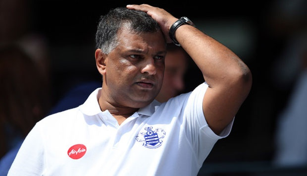 Was Tony Fernandez worried about sorry state of affairs in AIrAsia or QPR or both?