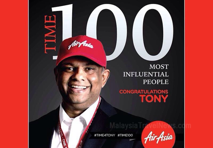 The famous Tony Fernandes, CEO of AirAsia Group & co-owner of the famous English football club QPR.