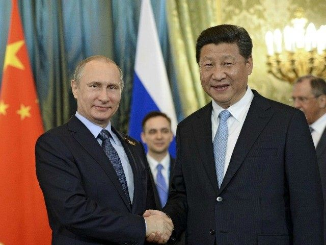 President Vladimir Putin of Russia (left) & President Xi Jinping of China should also be invited.
