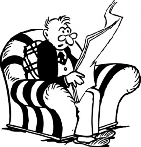 man-reading-newspaper-clip-art